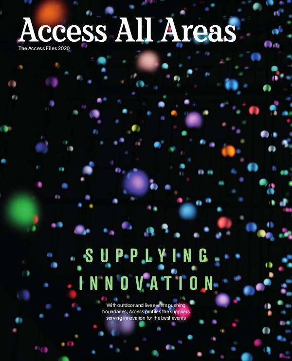Access All Areas Supplements Access Files 2020