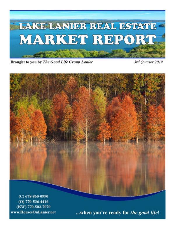 GLG Market Report Q3 2019 _QUARTERLY Report Q3 Update