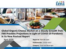 Global Organic Cheese Market on a Steady Growth Trail; FMI Provides P