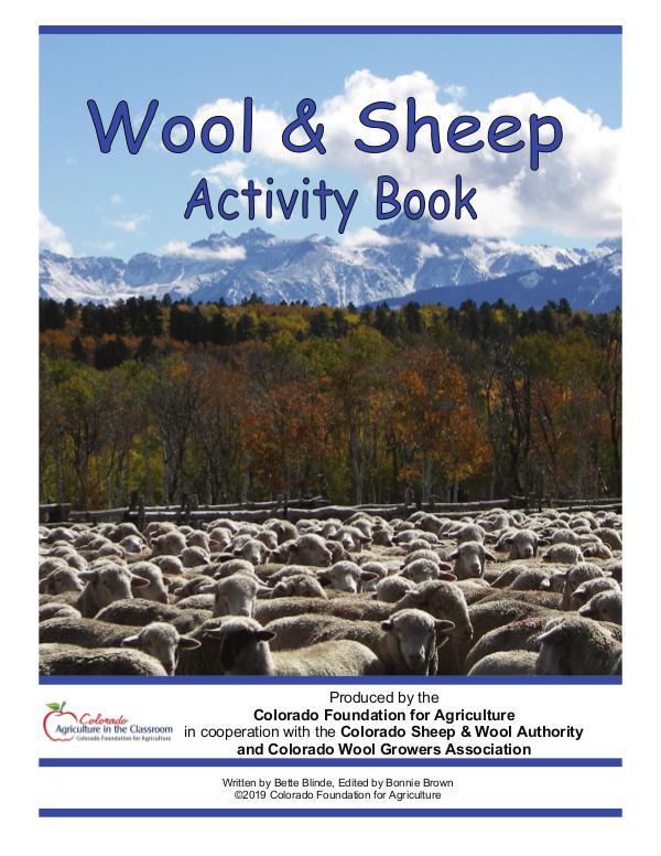 Activity Books Wool & Sheep Activity Book