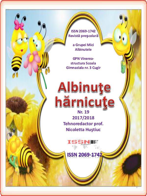 Primavara copilariei nr. 34 rev 19 albinute harnicute 2017 2018