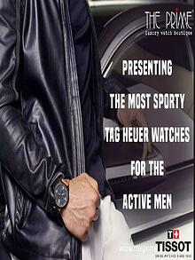 Presenting the Most Sporty Tag Heuer Watches For the Active Men