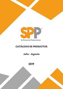 Catálogo SPD 2019