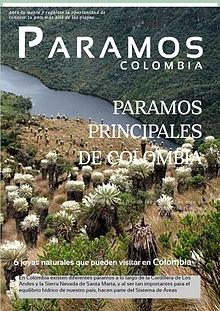 ALGUNOS PARAMOS DE COLOMBIA