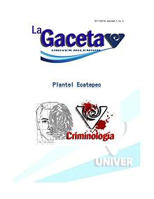 gaceta Nov. 3 vol 1 no 3