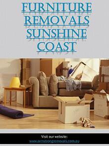 Affordable Removals Sunshine Coast   Call - 0754727588   armstrongrem