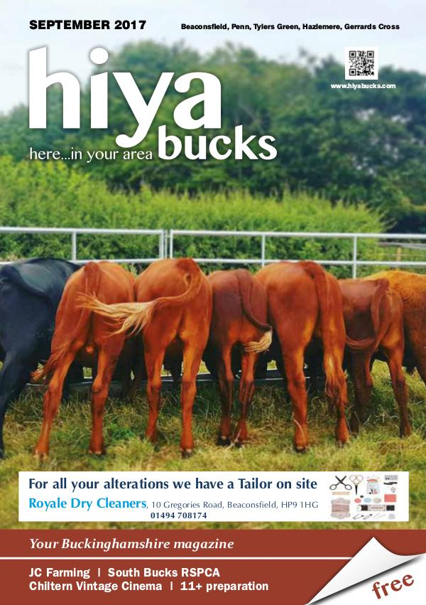 hiya bucks Amersham, Beaconsfield, Chesham, Gerrards Cross, Missenden September 2017