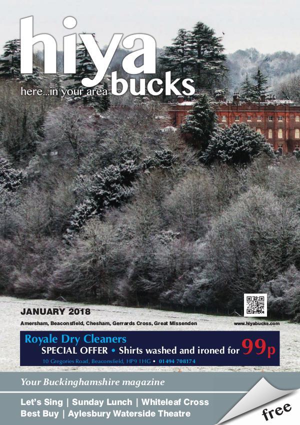 hiya bucks Amersham, Beaconsfield, Chesham, Gerrards Cross, Missenden January 2018