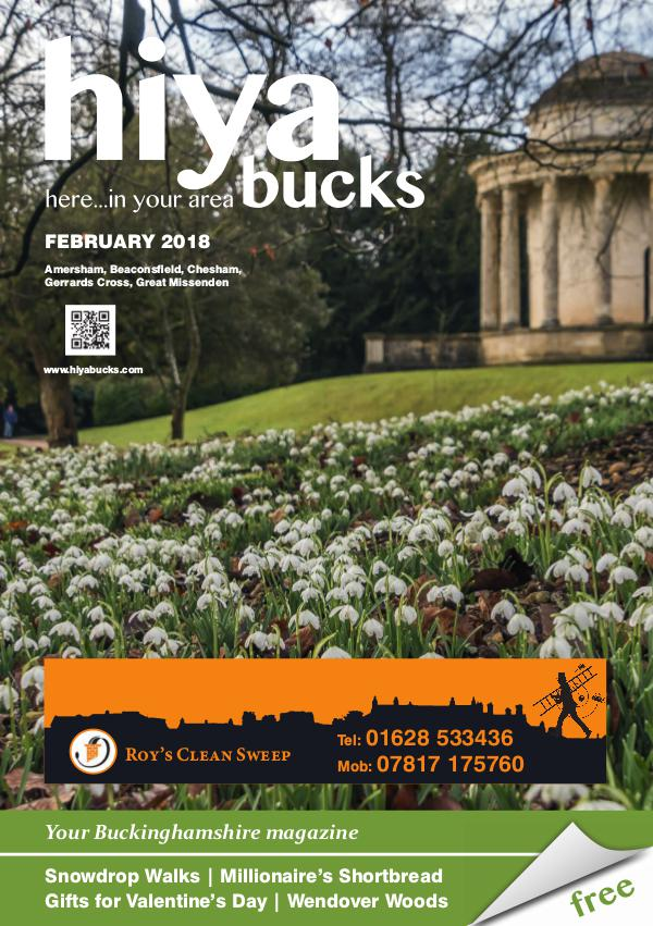 hiya bucks Amersham, Beaconsfield, Chesham, Gerrards Cross, Missenden February 2018