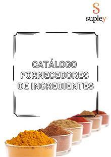 Catálogo de Ingredientes Supley