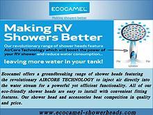 Caravan Shower Head Replacement