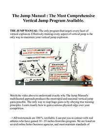 The Jump Manual Free Download EBook-PDF | Jacob Hiller