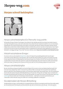 Die Herpes-Sofortlösung Buch PDF Download