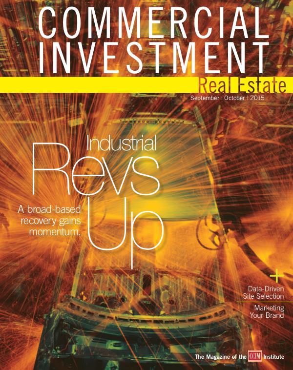 Commercial Investment Real Estate September/October 2015