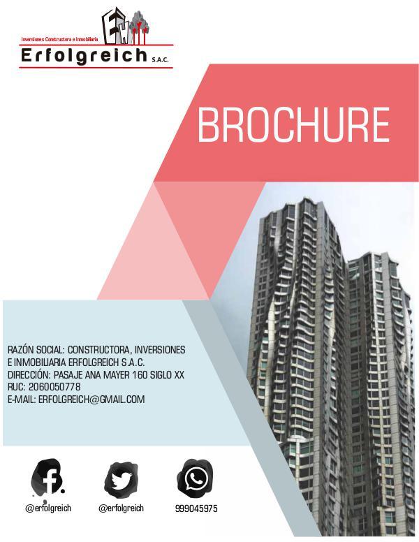 ERFOLGREICH Brochure Erfolgreich