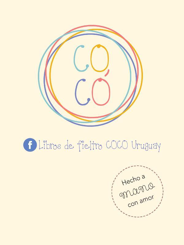 Libros de fieltro Cocó Catálogo COCÓ octubre
