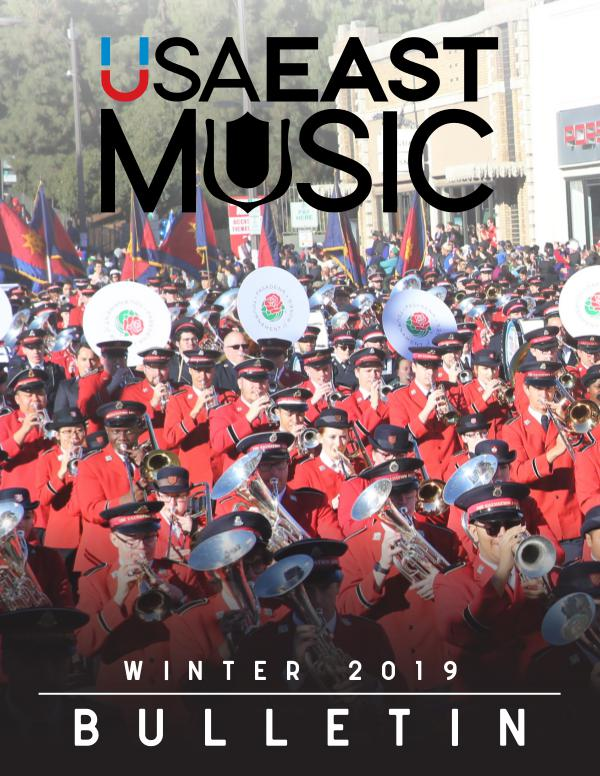 USA East Music BULLETIN - WINTER 2018/19 - ISSUE 1