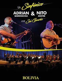 Nito Mestre y Adrián Barrenechea