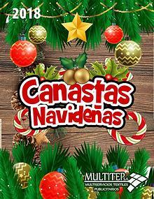 Catalogo Canastas Navideñas