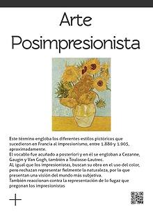 Pos impresionismo - Neo impresionismo