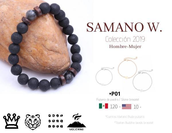 Samano W. Colección 2019 - Joyería para hombre y mujer