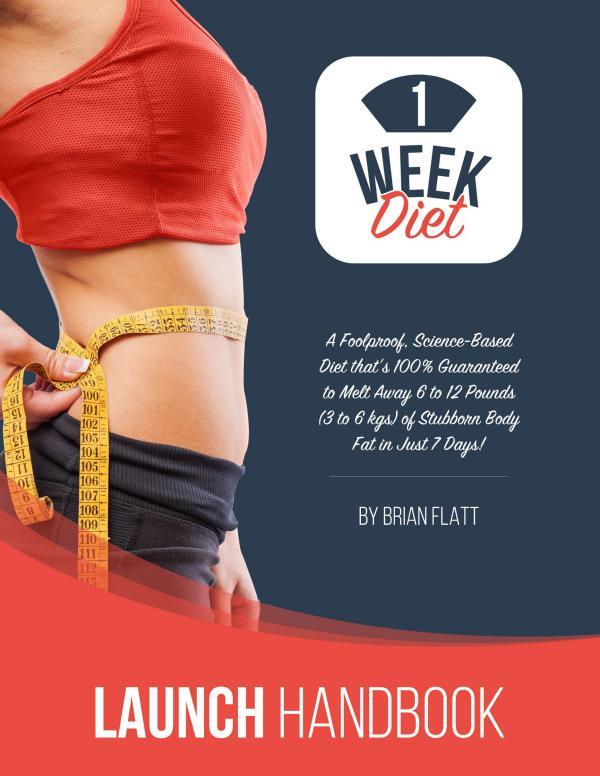 The 1 Week Diet By Brian Flatt Free Download 2019