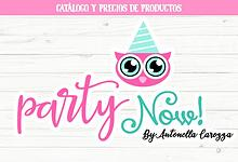 Catálogo Party Now