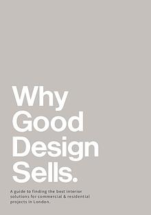 Why Good Design Sells