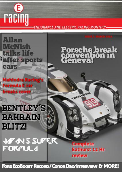 eRacing Magazine Vol. 1 Issue 2.