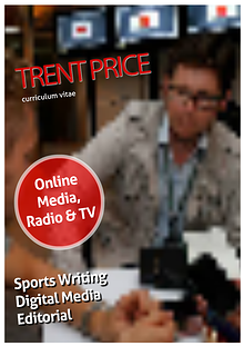 Trent Price resume & Greenfield Post spoof