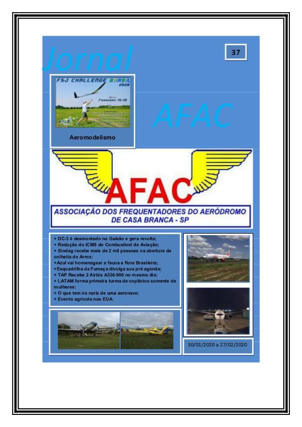 Jornal Digital AFAC - Edição 33 Edição 37