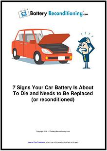 EZ Battery Reconditioning PDF Download, Course, Book Reviews