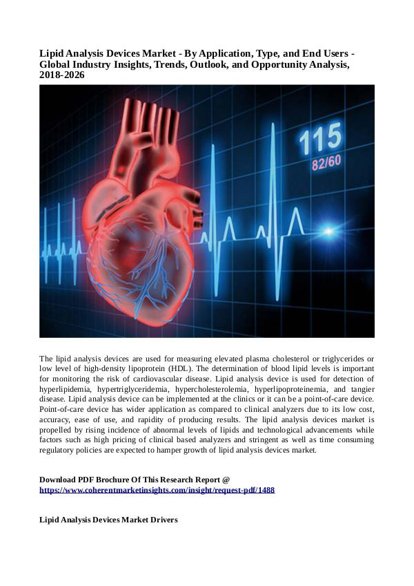 Healtcare Lipid Analysis Devices Market