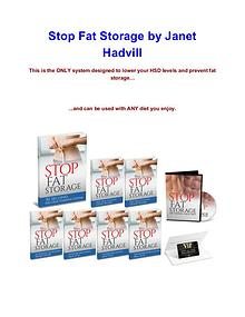 Janet Hadvill Stop Fat Storage review pdf download