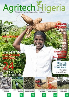 Demo Magazine Design for Nigeria Agro & Aquaculture