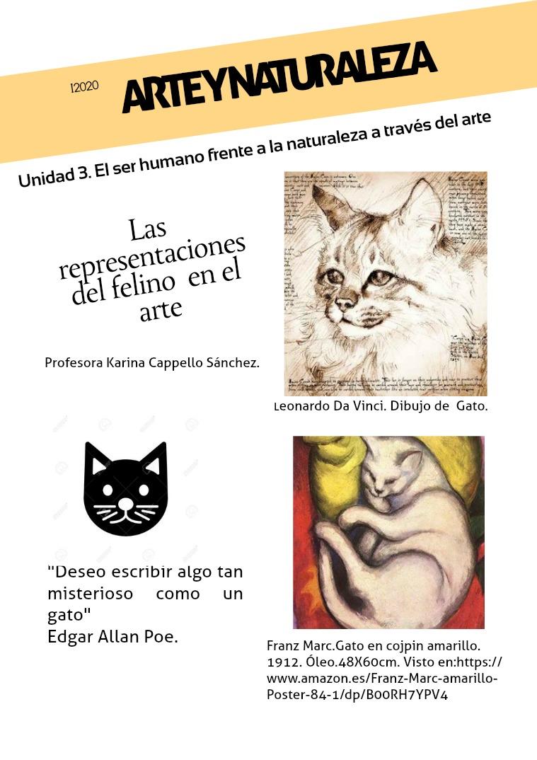 Representaciones zooformas y su simbolismo_2 Las representaciones del gato en el arte.