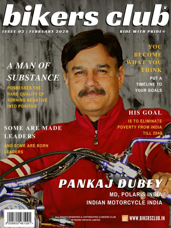 BIKERS CLUB FEBRUARY 2020 ISSUE