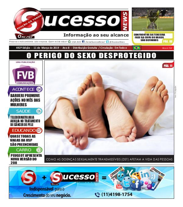 Jornal Sucesso News Jornal Sucesso News - Edição - 492 ONLINE