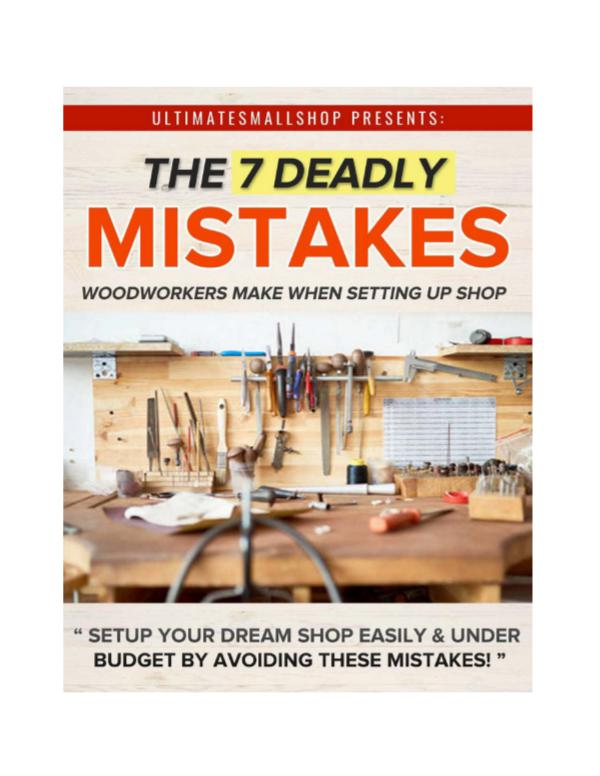 Ultimate Small Shop PDF - Woodworking Shop Layout Download Ultimate Small Shop PDF