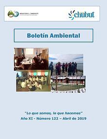 Boletín Ambiental N° 122 – Abril 2019