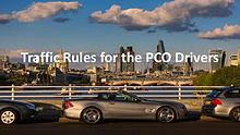 How can you protect yourself as a PCO car driver?