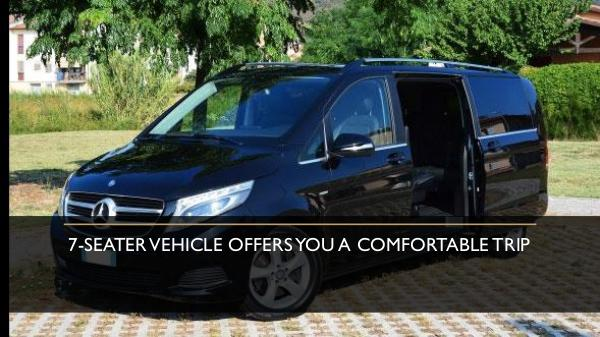 7-Seater Vehicle Offers You a Comfortable Trip