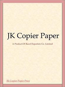 A4 Copy Paper Manufacturers in Thailand