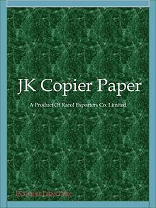 A4 Copy Paper Manufacturers in Thailand