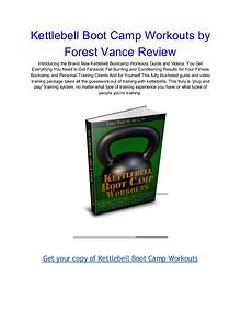 Kettlebell Boot Camp Workouts Forest Vance pdf download