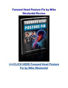 Forward Head Posture Fix Mike Westerdal pdf download