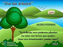 """Audio-poemas para celebrar o """"Día da árbore"""""""
