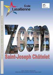 """Revue """"Zoom"""" de l'Institut Saint-Joseph de Châtelet"""