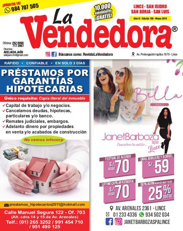 Revista La Vendedora EDICIÓN LINCE MARZO 2019