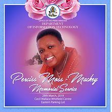 Perciss Mackey Moss Memorial Service